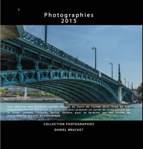 Photographies 2015 CouvP4 289x300 Sortie du livre : Photographies 2015   Collection Photographies