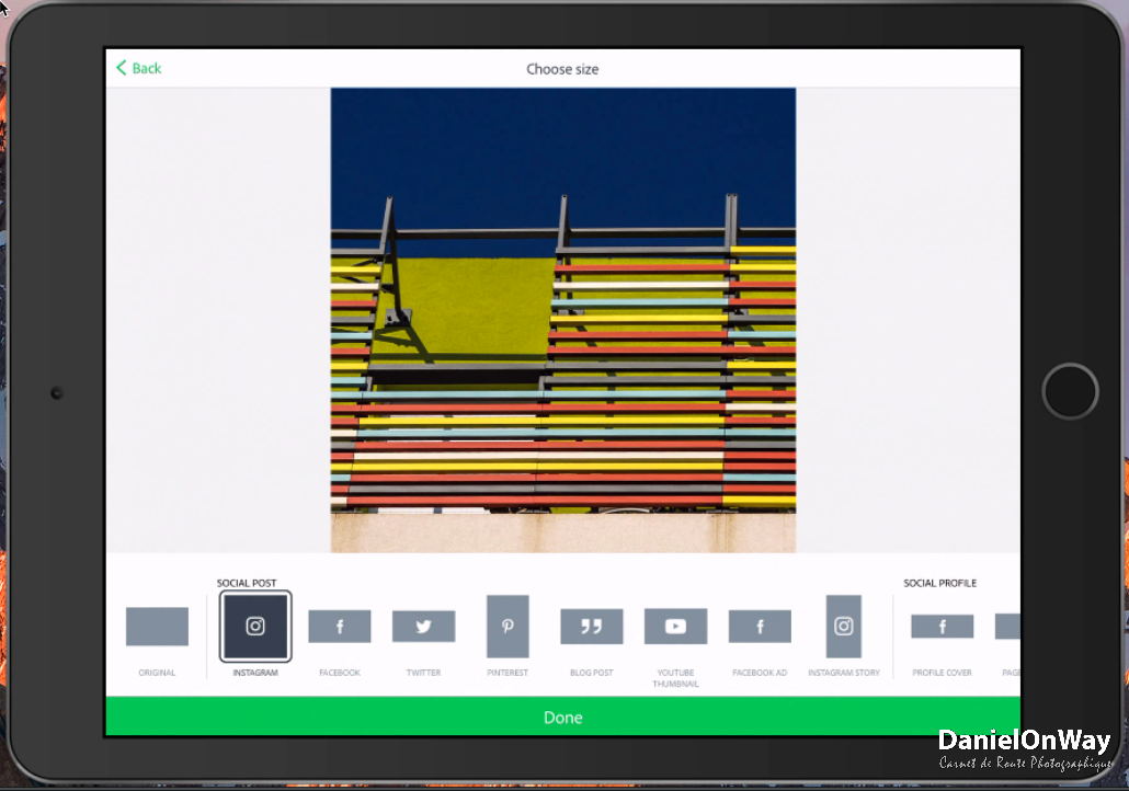 CopieEcran 2 1 Adobe Spark Post : Créer des Visuels au Design Stupéfiant pour vos Réseaux Sociaux