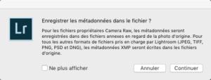 Sav meta fichier LR 300x114 LensTagger : Quand Lightroom ne reconnait pas votre objectif.