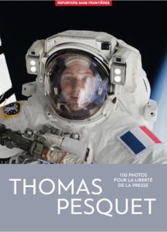 100 Photos Thomas Pesquet pour la liberte de la presse