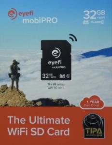 Boite EyeFi 232x300 Carte SDHC 32 Go + WiFi   Quand notre boitier ne dispose pas de wifi intégré