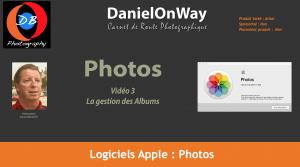 Titrage Apple Photo 03 300x167 Le Classement avec les Albums dans Apple Photos   Chapitre 3