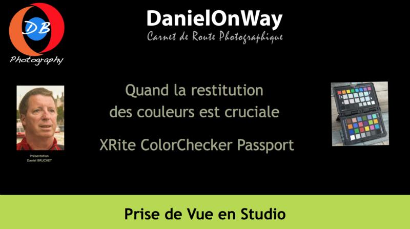 Titrage ColorChecker Passport