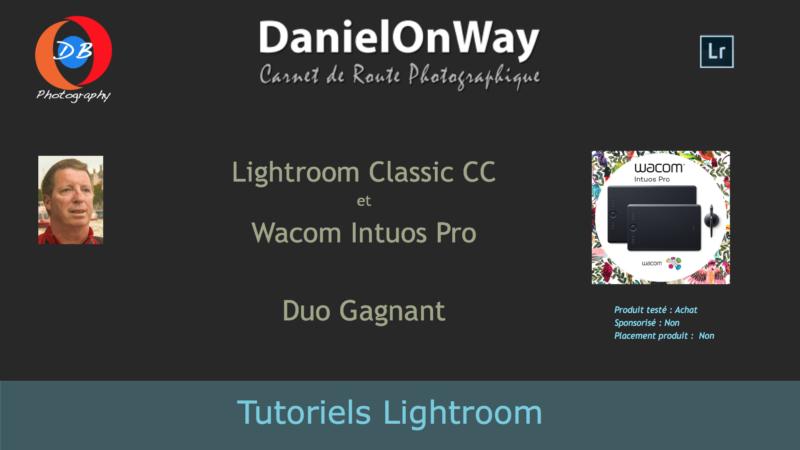 Wacom Intuos Lightroom