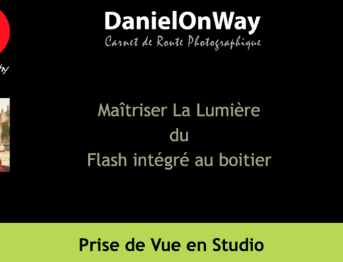 Maîtrise de la lumière en studio : Le flash intégré au boitier