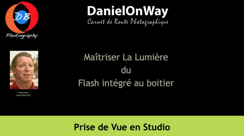 Lumière flash intégré