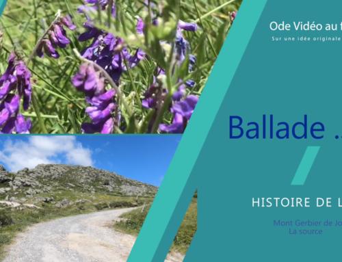 Découvrez Ballade … Ode vidéo au Fleuve Loire – 1er épisode : La source, en vidéo sur YouTube