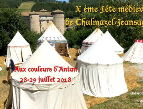La Fête Médiévale de Chalmazel-Jeansagnière – 28/29 juillet 2018