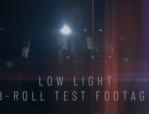 LOW LIGHT B-ROLL TEST FOOTAGE – Test d'une séquence B-roll en basse lumière