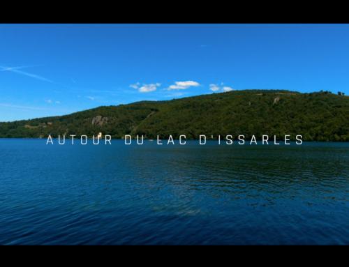 Autour du Lac d'Issarlès en Ardèche en 4K – Grottes troglodytes, Fin Gras du Mezenc