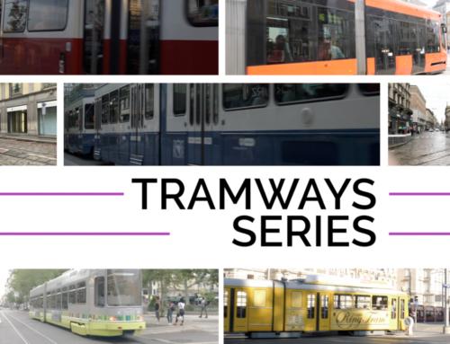 Nouvelle vidéo – Tramways Series – Florilège de tramways en Europe