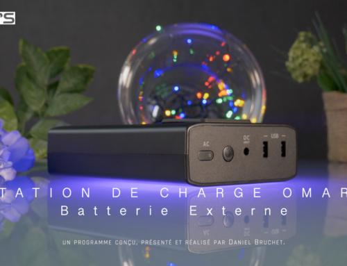 Nouvelle vidéo – STATION DE CHARGE OMARS Batterie Externe Autonome